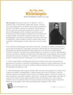 the life and career of michelangelo Renowned michelangelo expert william wallace has spent his career helping readers to find the familiar in the extraordinary artist's day-to-day life.
