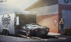 Muscle Car Ford GT