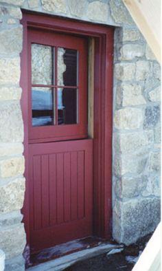 Custom Dutch Door Painted With Fine Paints Of Europe. Bernardsville, NJ
