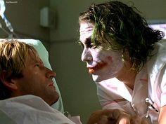The Dark Knight- Joker talking to Two-Face (Harvey Dent)