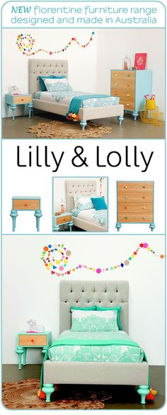 *New* Lilly and Lolly Furniture For Kids : The Florentine Collection