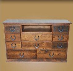 Barnwood Dresser with 10 Drawers | Dressers--Bedroom | | Rustic Furniture | Lakota Cove - Atlanta, Georgia