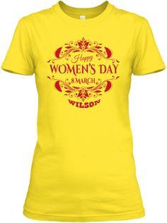 Wilson Women Day Daisy T-Shirt Nữ Front