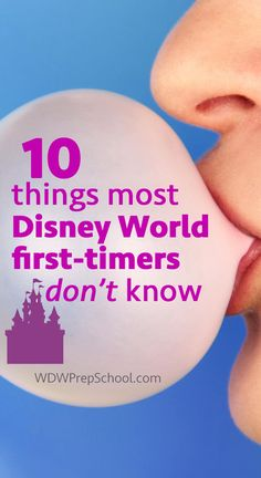 10 things to know about Disney World before you go
