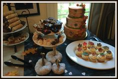 Over the summer I had my first experience throwing a bridal shower. It was a lot of fun and turned out well. I found myself in need to throw another one this fall, with a completely different the…
