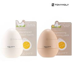 TONYMOLY Egg Pore Blackhead Steam Balm 30g  Tightening cooling pack 30g set -- See this great product. (Note:Amazon affiliate link)