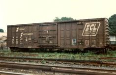 Seaboard Coast Line boxcar Boxcar, Old Trains, Rolling Stock, Acl, Train Tracks, Locomotive, Santa Fe, 1970s, Transportation