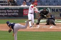 Bryce Harper Back From the DL, Crushes Home Run in First At Bat....