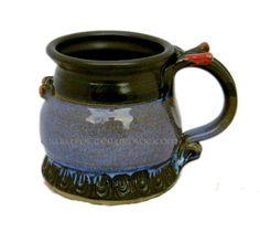 Ultimate Mug Series... elaborately decorated one of a kind mugs