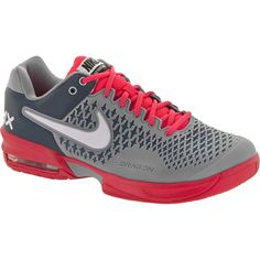 the latest 310d8 e3f87 Nike Air Max Cage  Nike Men s Tennis Shoes Stadium Gray White Atomic Red