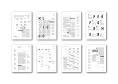 Editorial 1.0 on Behance longinotti 2