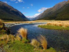 Greenstone River-Greenstone Track-New Zealand by mikemellinger, via Flickr