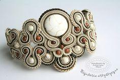 www.facebook.com/... Rękodzieło-biżuteria sutasz Handmade - Soutache jewellery. #bracelet  #bransoletka #prezenty #walentynki #valentinesday Facebook, Handmade, Jewelry, Hand Made, Jewlery, Jewerly, Schmuck, Jewels, Jewelery