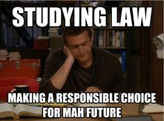 Top 10 Law School Memes  http://www.iamthecoffeechic.com/2013/06/top-10-law-school-memes.html