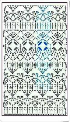 PATRONES=GANCHILLO = CROCHET = GRAFICOS =TRICOT = DOS AGUJAS: GRAFCOS AL CROCHET= PATRONES A GANCHILLO