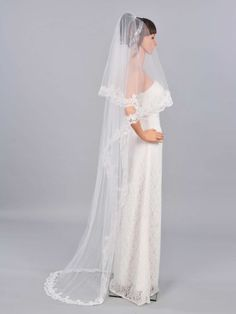 Remedios Boutique Women's 2 Tiers Embroidered Edge Bridal Veil with Comb Remedios Boutique,http://www.amazon.com/dp/B00DSGXEAG/ref=cm_sw_r_pi_dp_FSsgtb1029GC31D9
