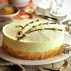 Tarta de mousse de limón y galleta Cake Recipes, Dessert Recipes, Cheesecake Cake, Fancy Desserts, Mousse Cake, Dessert Drinks, Sweet Cakes, Cakes And More, Vanilla Cake