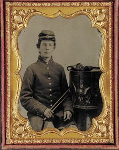 """www.civilwartruce.com  Drummer, John N. Tallman, in Company I, of the 76th Illinois Volunteer Infantry Regiment (not pictured) wrote to his sister Amanda: """"I allways like to get a letter from you if it dos bother me to read them. All I wanted was to have you learn to wright and spell well. It will take hard studding to do it, but it can be done. Nothing speaks better for a lady than a well spelled and well written letter. I want you to keep wrighting so that I can see how fast you improve."""""""