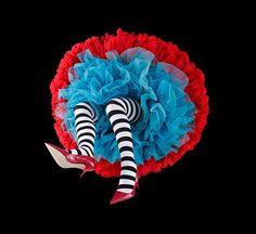 stripe stockings