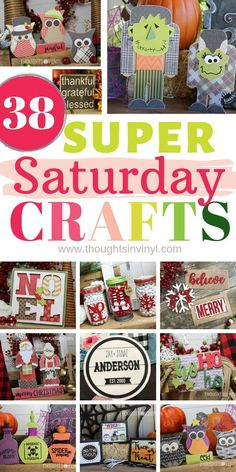 If you are looking for fun and creative super Saturday Craft Projects you found the right place! We have hundreds of craft kits to choose from to fit any budget. Lots of our craft kits are reversible too, so you basically get two crafts for the price of o Crafts For Teens To Make, Craft Kits For Kids, Fall Crafts For Kids, Diy Crafts To Sell, Fun Crafts, Kids Diy, Paper Crafts, Christmas Crafts To Make And Sell, Simple Crafts