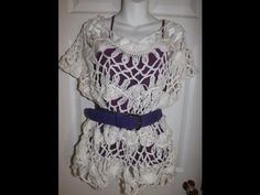 Hairpin Lace Summer Blouse Part 3.