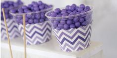 Chevron Purple - Party Decorations Baby Shower Purple, Baby Girl Shower Themes, Purple Baby, Purple Party Decorations, Baby Shower Decorations, Purple Chevron, Big Dot Of Happiness, Personalized Party Favors, Green Party