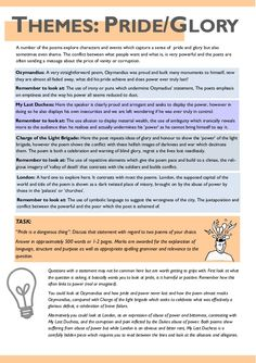 AQA Power and Conflict Poetry Revision Guide English Literature Poems, Poems In English, English Help, English Study, English Gcse Revision, Gcse English Language, English Writing Skills, Writing Words, Writing Rubrics