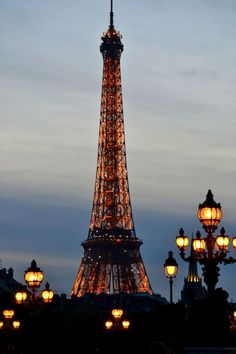 audreylovesparis:  Evening in Paris