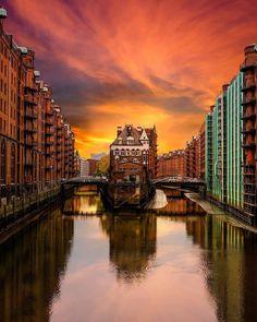 Wasserschloss Speicherstadt Hamburg ⚓