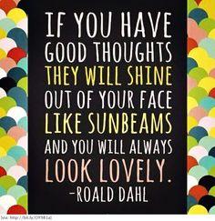 Roald Dahl...