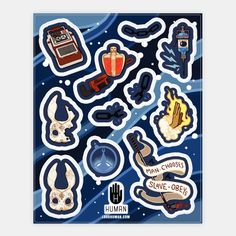 Bioshock Stickers from LookHuman.com