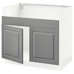 metod unterschr nke mit einem offenen metod unterschrankkorpus in wei dazwischen wohnideen. Black Bedroom Furniture Sets. Home Design Ideas