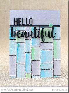 Hello Beautiful–MFT Color Challenge #50
