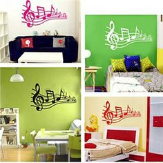 Happy Music Wall Stickers (0565-gz060)