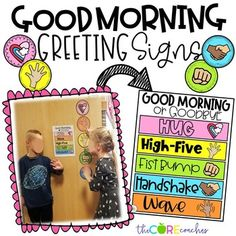 Editable Morning Greeting • Morning Greetings Social Distancing • Digital