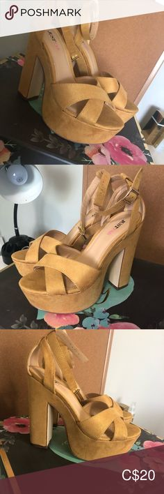 Fab heels Worn once ! Perfect colour for summer ! Plus Fashion, Fashion Tips, Fashion Trends, Shoes Heels, Colour, Summer, Things To Sell, Style, Fashion Hacks