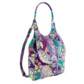 "A new Vera Bradley pattern that my daughter loves.  Not big enough for school, but a cute style for a ""day bag""."