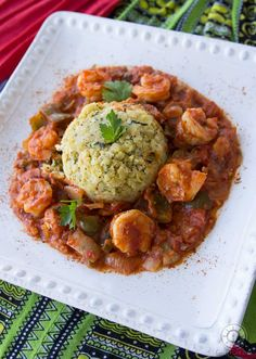 Shrimp_Mofongo_Puerto_Rico_Seafood_Recipe_Sailingfork_Foodblog_pic2     Hmmm, have to try this recipe less calories by boiling plantains