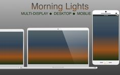 Morning Lights (wallpaper pack) by TheGoldenBox