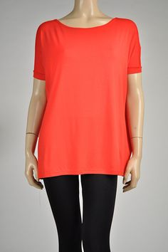 Kiki La'Rue - Short Sleeve Piko Top - Red, $33.00 (http://www.kikilarue.com/short-sleeve-piko-top-red/)
