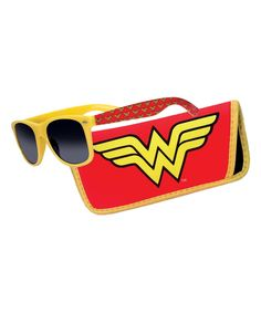 Loving this Wonder Woman Sunglasses & Carrying Case on #zulily! #zulilyfinds
