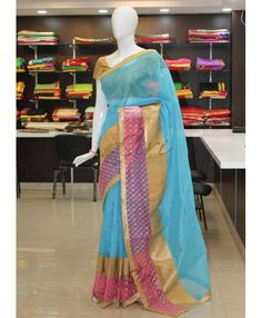 Buy Latest Jute Sarees From Siri Collections