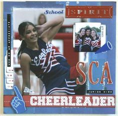 scrapbook cheerleading layouts | want to scrap: Cheer Pages to copy