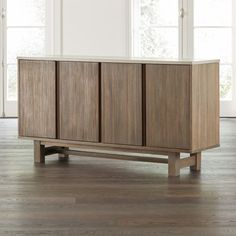 Caicos Cement Top Sideboard at Crate and Barrel Canada. Discover unique furniture and decor from across the globe to create a look you love. Gothic Furniture, Unique Furniture, Custom Furniture, Furniture Decor, Vinyl Record Storage, Lp Storage, Geometric Furniture, Pallet Tv Stands, Living Room Essentials