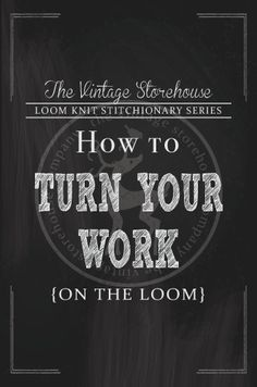 Have you ever wondered about turning your work on the loom? I mean, you can just simply start knitting going the opposite direction, but is there more to it than that? Well, put simply, yes! This tutorial covers 2 different ways to turn your work on the loom, one of which creates a nice clean …