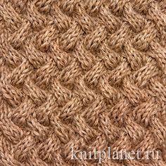 Узоры для вязания спицами с