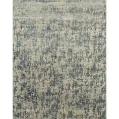 Jaipur Hand Knotted Light /Stone Contemporary Pattern Rug