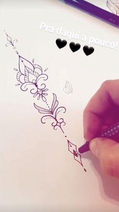Tattoos symbols with meaning - Decor Lotusblume Tattoo, Unalome Tattoo, Sternum Tattoo, Piercing Tattoo, Back Tattoo, Tiny Tattoo, Tattoo Fonts, Tattoo Quotes, Spine Tattoos