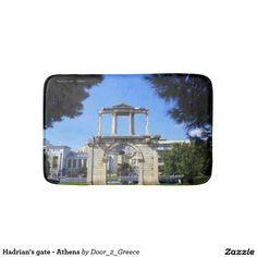 Hadrian's gate - Athens Bath Mats