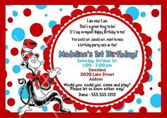 Love Dr Suess Maybe It Can Be Next Years Party Dr Seuss Party